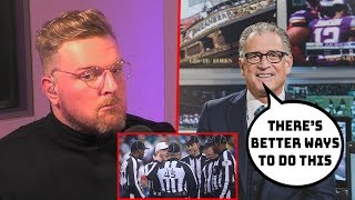 Pat McAfee & Mike Pereira Talk NFL Referee Issue