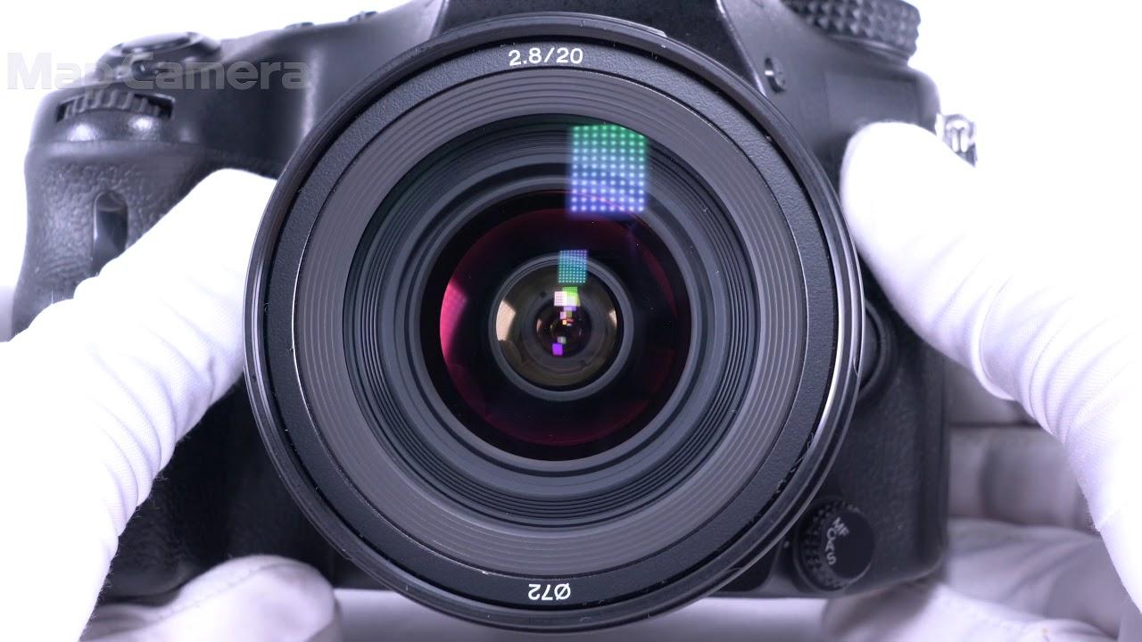 SONY (ソニー) 20mm F2 8 SAL20F28 良品