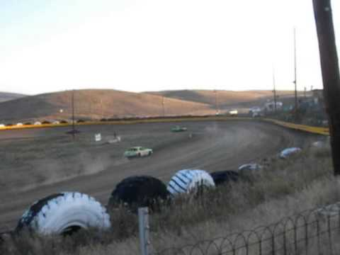 Hayden Speedway Mini Stock Heat #2 9-13-14