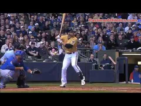Ryan Braun Hitting Slow Motion Home Run Swing - Milwaukee Brewers MLB Video Clip