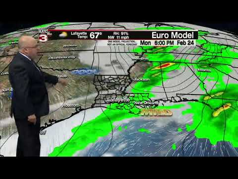 ROB'S WEATHER FORECAST PART 2, 5PM 2/19/2020