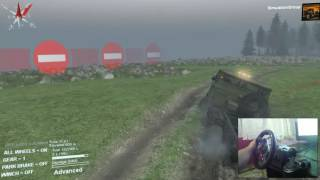 SpinTires - Logitech G29 + Shifter - Switzerland Alps Map Download