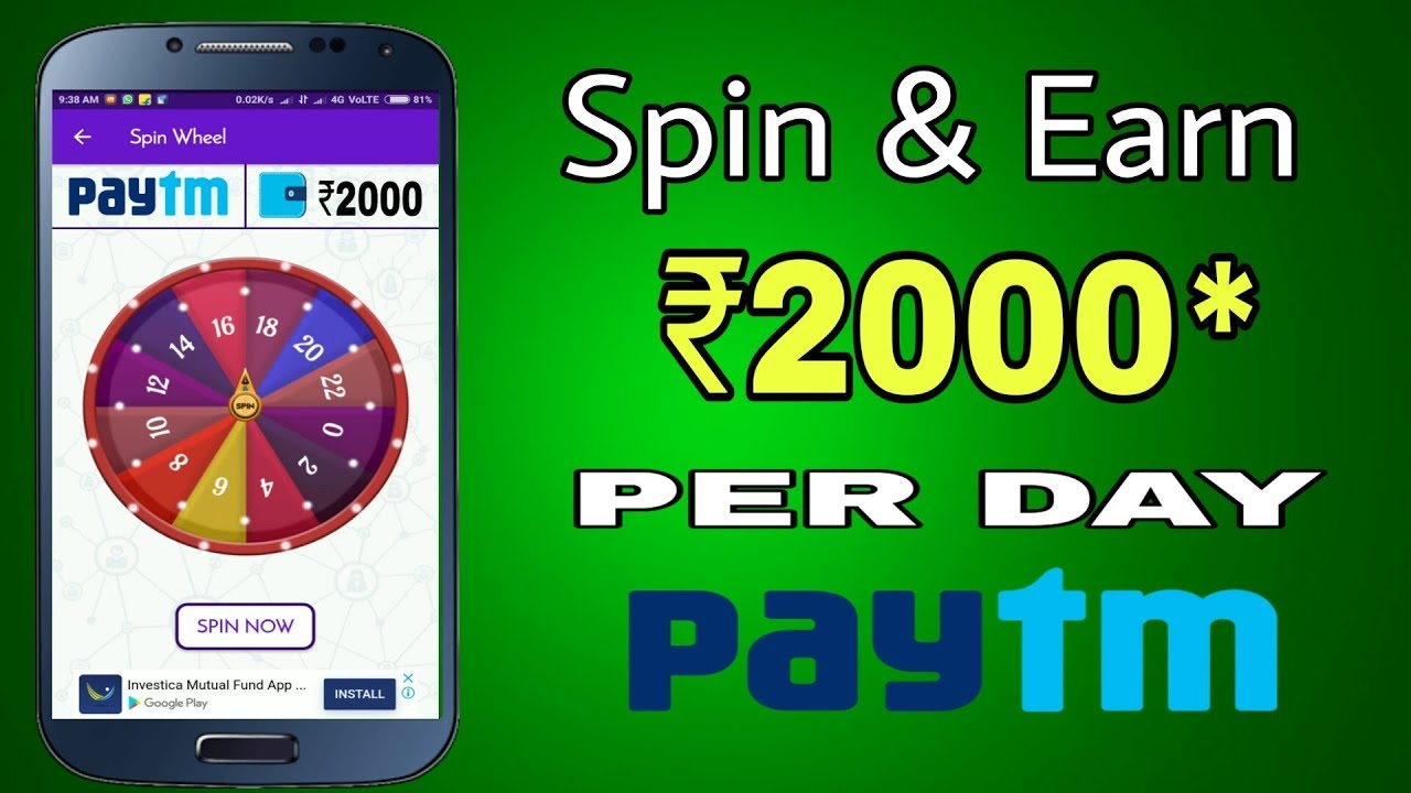 Spin And Earn Money
