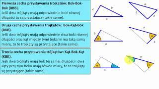 Dowód i cechy przystawania trójkątów | MatFiz24.pl