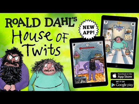 Roald Dahl's House of Twits - Best App For Kids - iPhone/iPad/iPod Touch