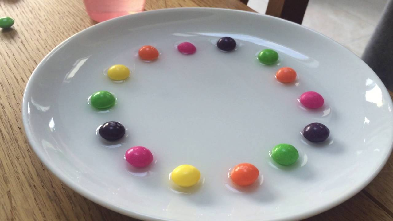 The Skittles Rainbow Experiment With Water Kids Science