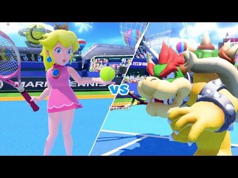 Mario Tennis: Ultra Smash Walkthrough Part 4 - Knockout Challenge (Unlocking Star Peach)