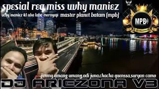DJ ARIEZONA REMIX VIP PURE LOVE[MISS UCHY MANIEZ]to KELUARGA BESAR MASTER PLANET BATAM 2018