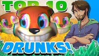 Top 10 DRUNKS in Video Games! - SpaceHamster