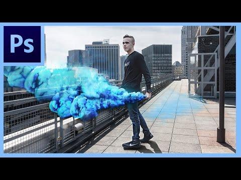 PhotoShop Как сделать красивую Аватарку с Дымовой шашкой?
