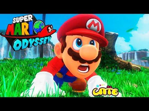 SUPER MARIO ODYSSEY #1 Trickfilm-Spiel für Kinder Kids летсплей auf СПТВ Super Mario Odyssey