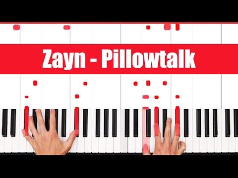 Pillowtalk Zayn Piano Tutorial - CHORDS