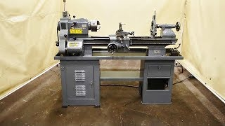 "CLAUSING 1 HP 12"" x 36"" Engine Lathe"