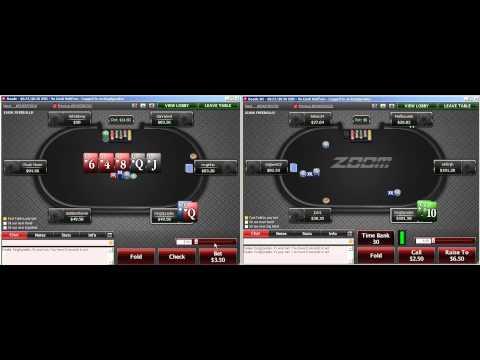 LuckyFish zoom nl50 на PokerStars