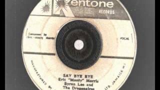 eric monty morris - say bye bye and sammy dead - kentone records shuffle ska