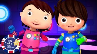 Dance and Party | Learn English for Kids | Cartoons for Kids | Nursery Rhymes | Little Baby Bum