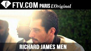 Richard James Men Fall/Winter 2014-15 ft. David Gandy | London Collections: Men | FashionTV