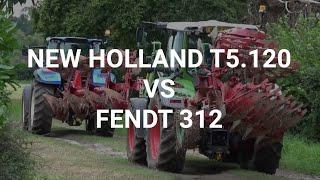 On test: New Holland T5.120 v Fendt 312