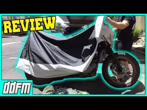 The Cheapest & Best Waterproof Motorcycle Cover!