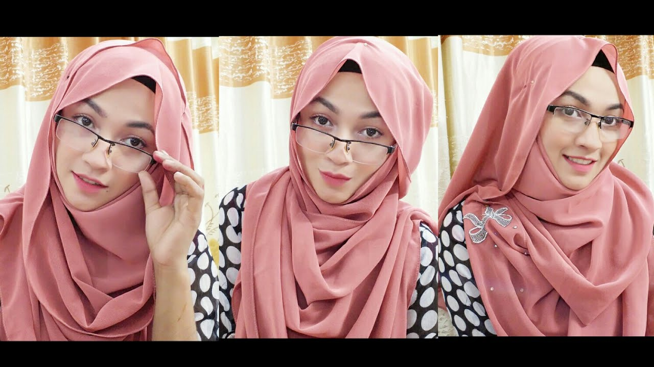 Fashion week How to hijab wear covering chest for girls
