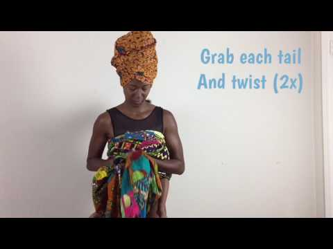 Chest Carry Tutorial - African Style