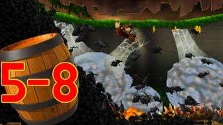Donkey Kong Country Returns 3D: World 5-8 Muncher Marathon