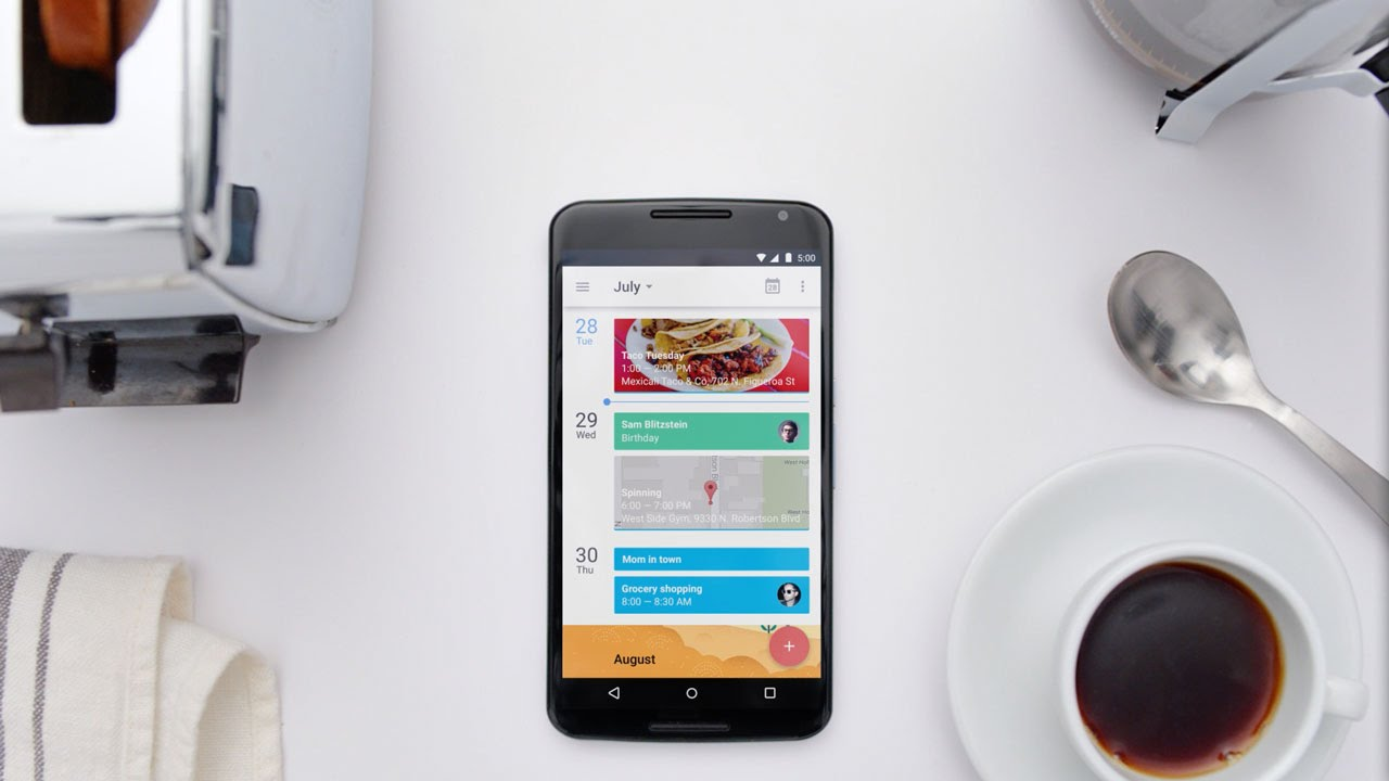 The New Google Calendar App For Android And Iphone Youtube