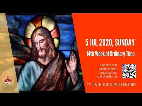 Catholic Sunday Mass Today Live Online - Sunday, 14th Week of Ordinary Time 2020 - Livestream