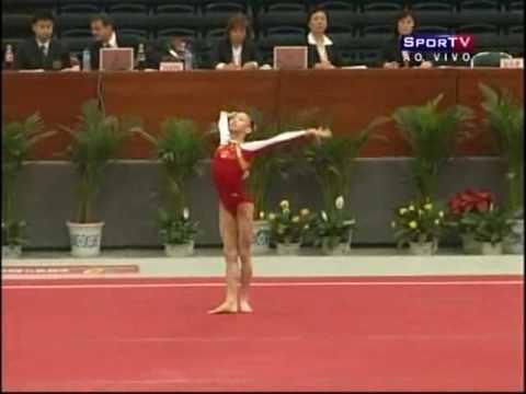 2008 Tianjin World Cup - Yang Yilin FX (Silver - 15.275)