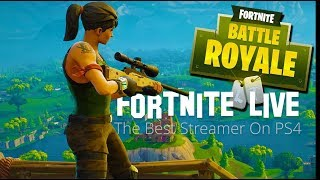 Fortnite   Fun Stream, All Love   Try Not To Cringe At My Greatness!   Morning Marathon Stream PS4
