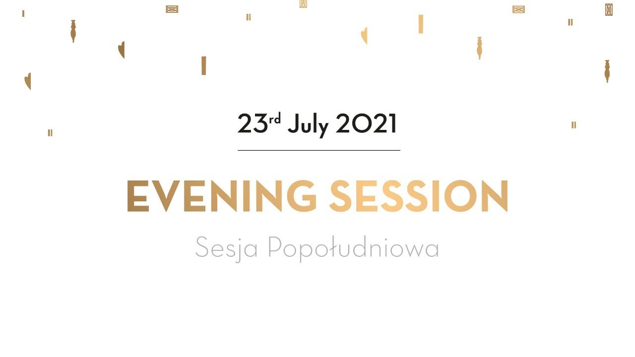 Day 12 - Evening Session - Preliminaries - 18th International Fryderyk Chopin Piano Competition