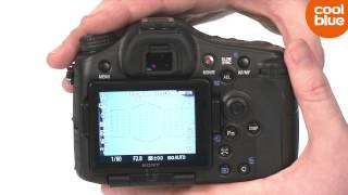 Sony Alpha A77 Mark II translucent mirrorcamera productvideo (NL/BE)