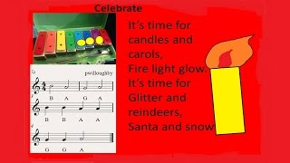 """Celebrate"" A Christmas song for children"