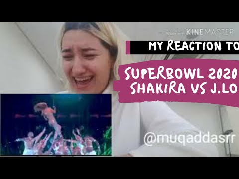 Shakira & Jennifer Lopez Full Pepsi Super Bowl LIVE Halftime Show Reaction