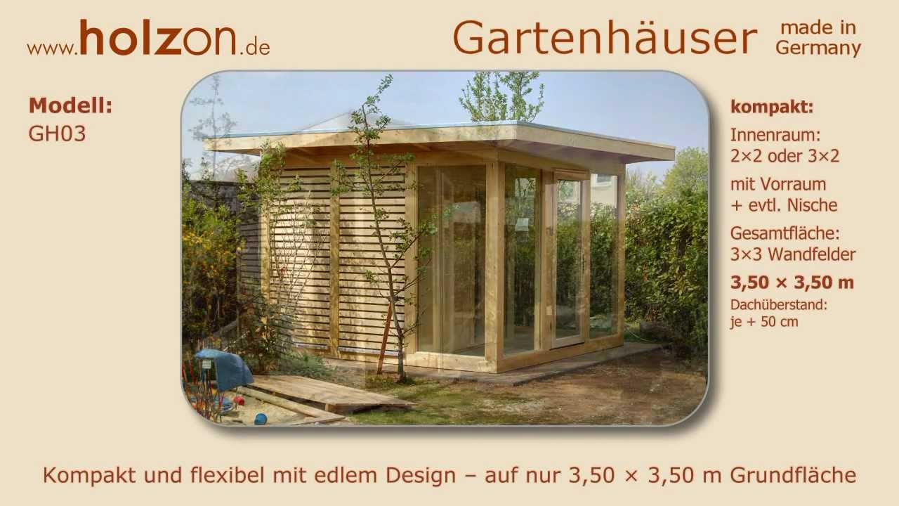 gartenhaus selber bauen ger tehaus modern holzon design gartenh user aus holz glas trespa. Black Bedroom Furniture Sets. Home Design Ideas