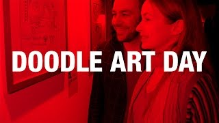 o2   doodle art day   case study von exit media