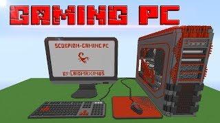 MÁY TÍNH ẢO DIỆU NHẤT MINECRAFT !!!!(  Working PC in Minecraft)