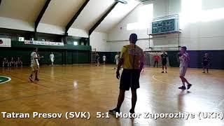 Handball. U17 boys. Sarius cup 2017. Motor Zaporozhye (UKR) - Tatran Presov (SVK) - 3:17 (1st half)