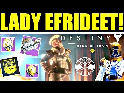 Destiny - LADY EFRIDEET! NUEVA CINEMÁTICA & RECOMPENSAS DEL IRON BANNER! (Estandarte de Hierro)
