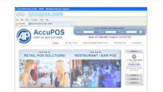AccuPOS Point of Sale Animated Demo