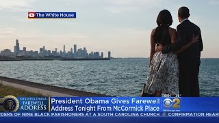 President Obama Set To Present Farewell Address