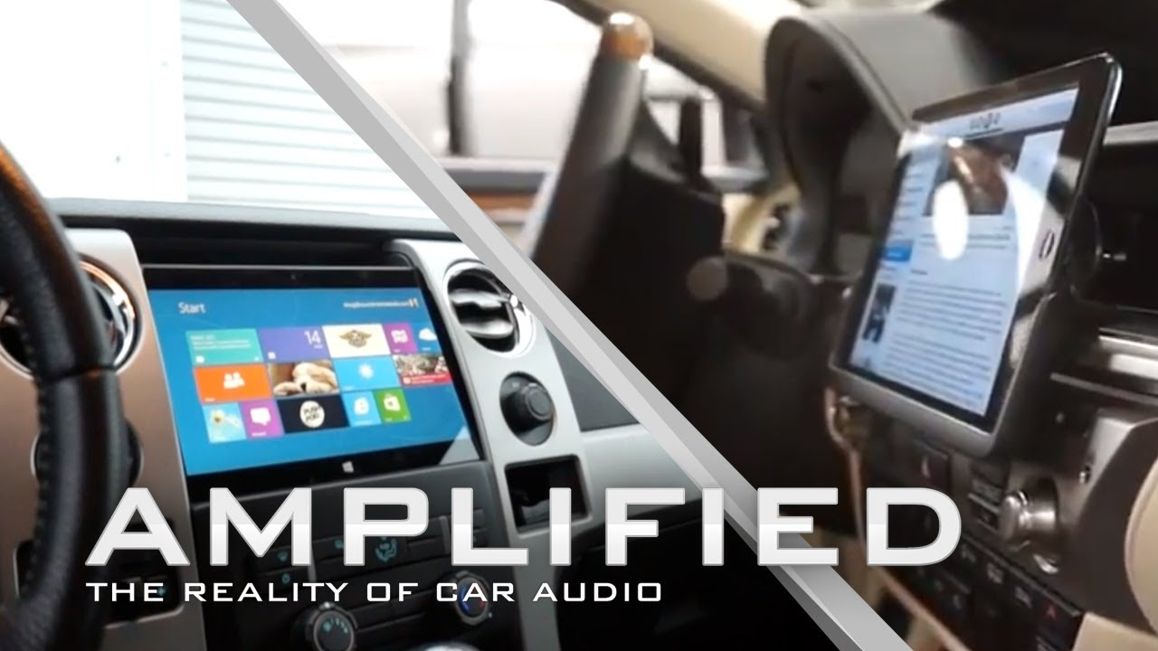 Microsoft Surface Installed Into Ford F150 Ipad Mini Lexus Es400h