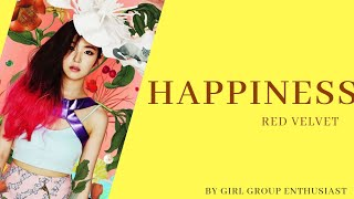 [MGL SUB] HAPPINESS - RED VELVET