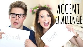 Accent Challenge with Marcus Butler   Zoella