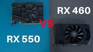 AMD Radeon RX 550 vs RX 460