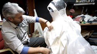 Groom Makes Wedding Dress