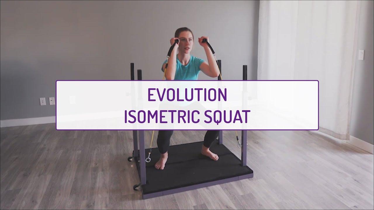 Home Exercises | Evolution Isometric Squat | Strength & Endurance | Legs