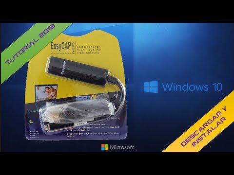Como Usar La EasyCap En  Windows 8, 8 1, 10 (Instalar Drivers) - Link Mega¦ ¦ 💻GaryPC💻