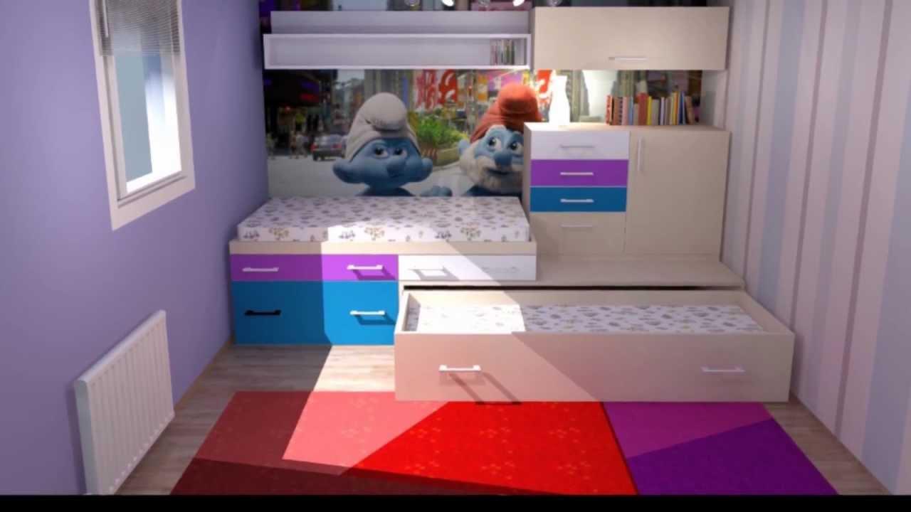 K2 MODUL,otroško mladinska soba by damijankoprivc - YouTube
