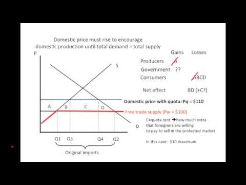 Basic import quotas analysis